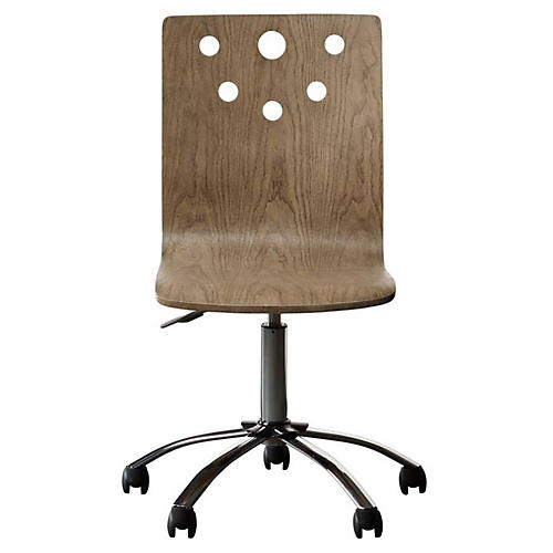 Driftwood Park Desk Chair, Natural