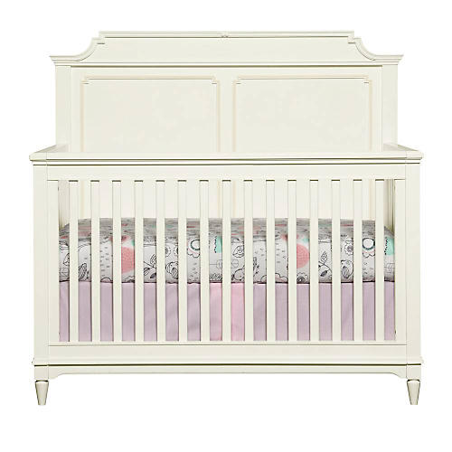 Clementine Court Crib, White