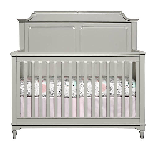 Clementine Court Crib, Gray