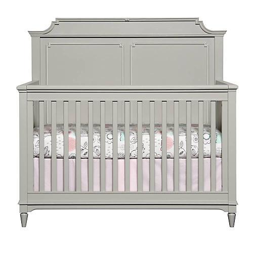 Clementine Court Crib, Gray