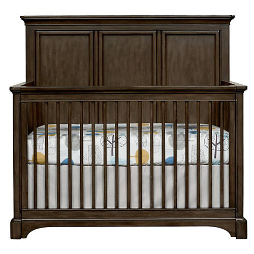 Chelsea Square Crib, Raisin