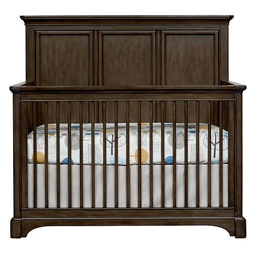 Chelsea Square Convertible Crib, Raisin