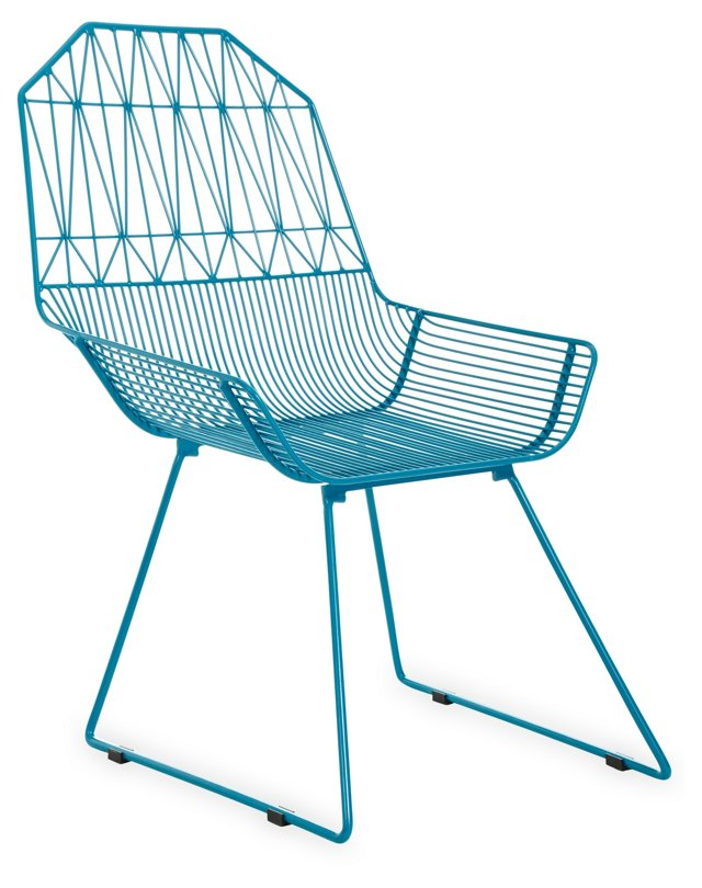 Bunny Chair, Peacock Blue