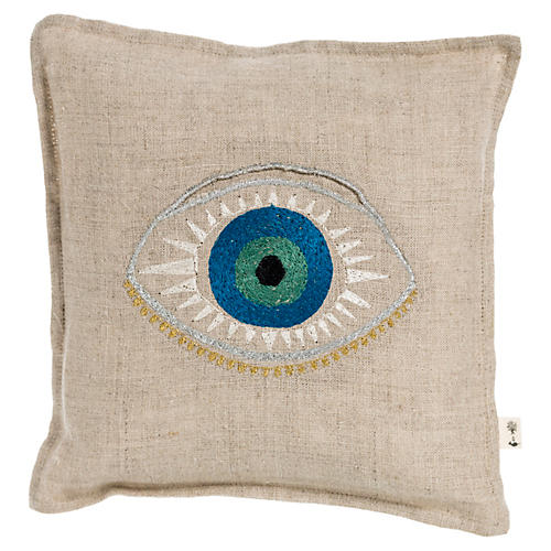 Luck 7x7 Linen Pillow