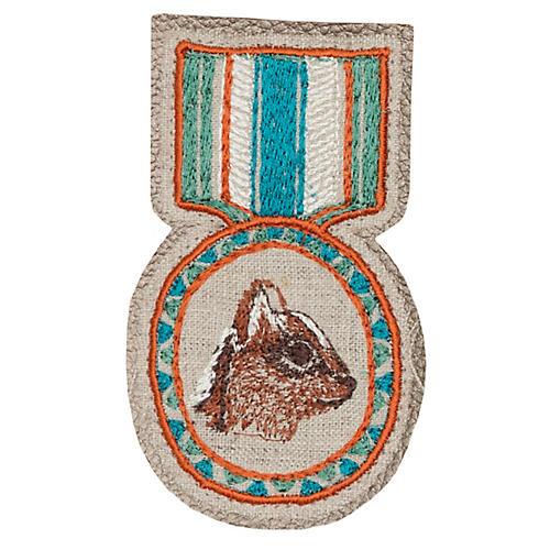 Chipmunk Medal Pin