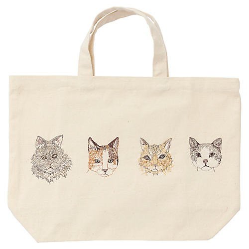 Cat Portraits Tote