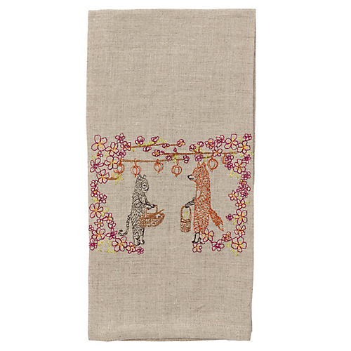 Spring Celebration Tea Towel