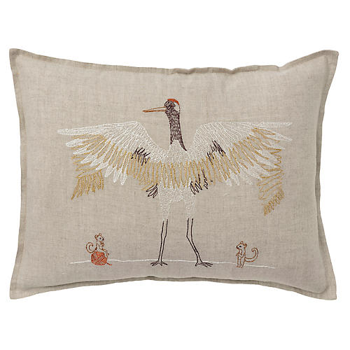 Feather Weaving 12x16 Pillow