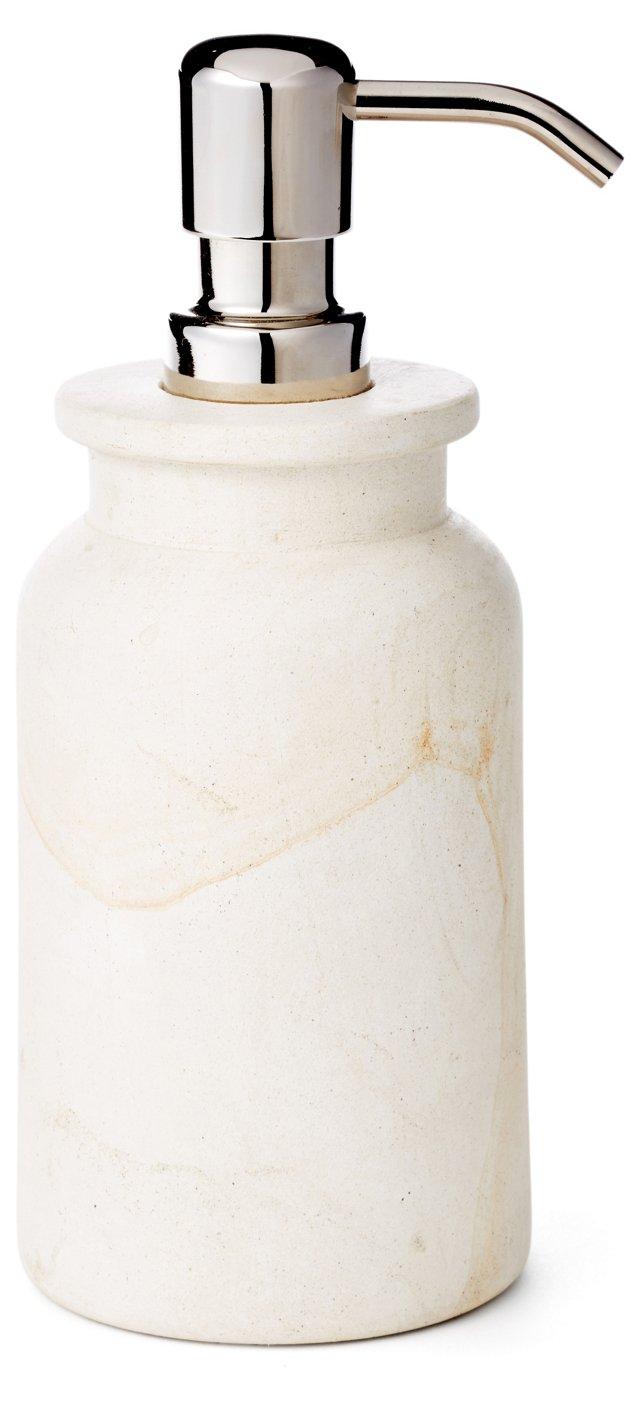 Woodstone Lotion Pump, Natural
