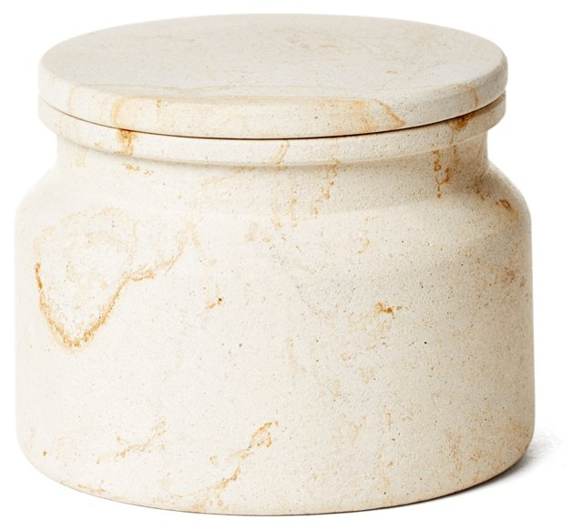 Woodstone Canister, Natural