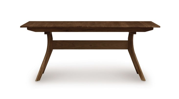 Audrey Dining Table, Walnut