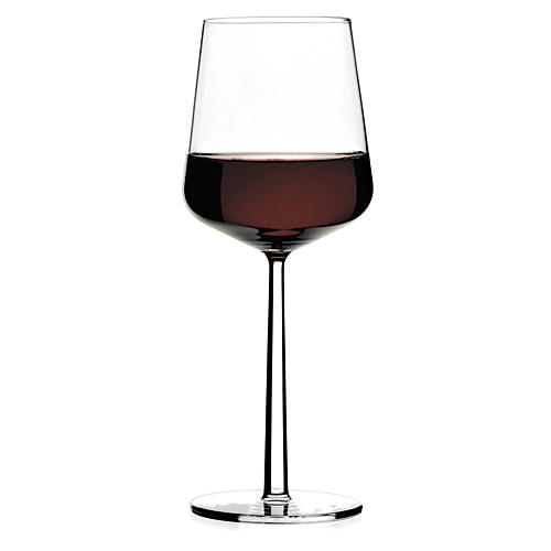 S/4 Essence Red-Wine Glasses, Clear