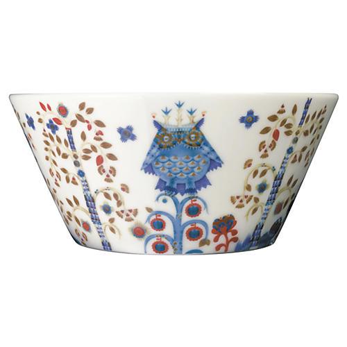 Taika 22.5 Oz Pasta Bowl, White