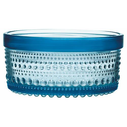 Small Kastehelmi Jar, Light Blue