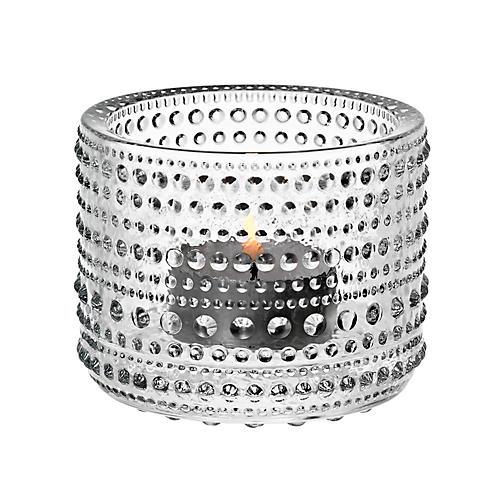 """3"""" Kastehelmi Tealight Candleholder, Clear"""