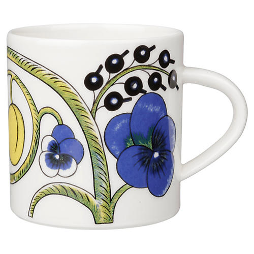 Paratiisi Coffee Mug, White/Multi