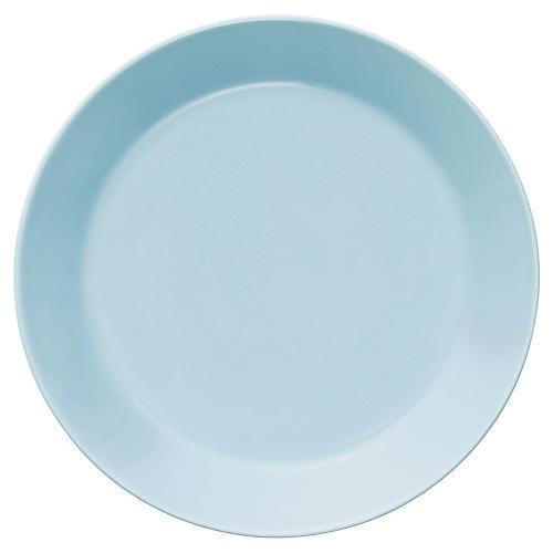 Teema Bread Plate, Light Blue