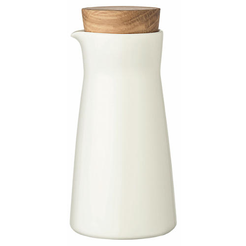 Teema Milk Jar, White