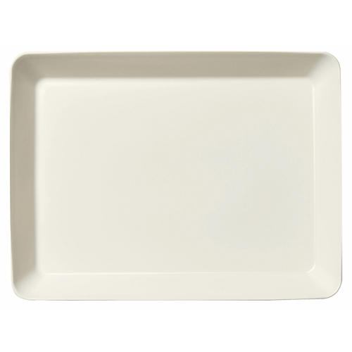 Teema Serving Platter, White