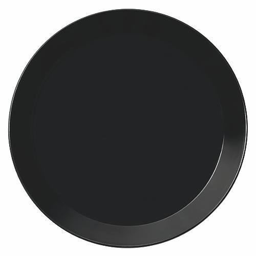 Teema Salad Plate, Black