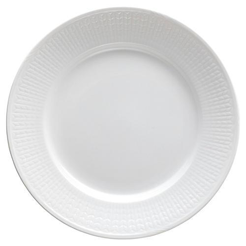Swedish Grace Dinner Plate, Snow