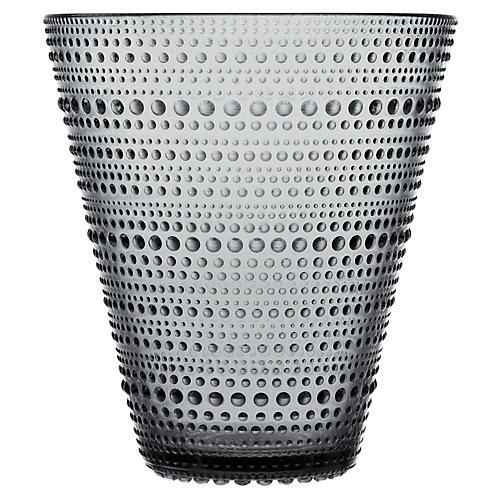 "6"" Kastehelmi Vase, Gray"