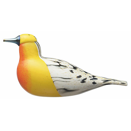 "10"" Toikka Blackburnian Warbler Figure, Yellow"