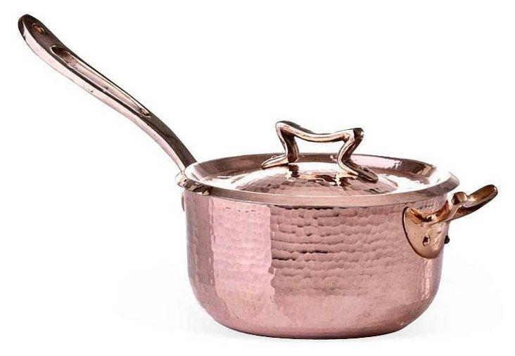 2.2 Qt Copper Sauté Pan w/ Side Handle