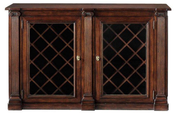 Ionic Wine Cabinet