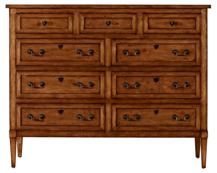 "Alewife 60"" Dresser, Toasted Almond"