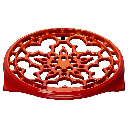 Deluxe Round Trivet, Flame