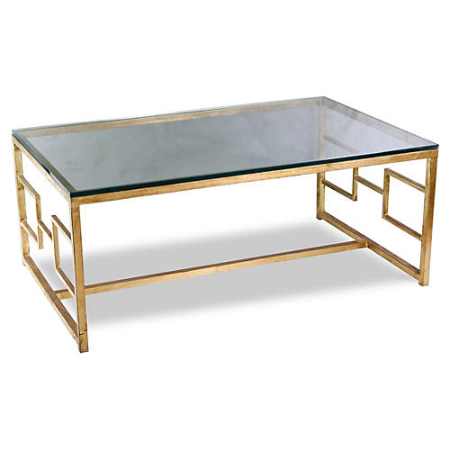 Somrig Coffee Table, Gold
