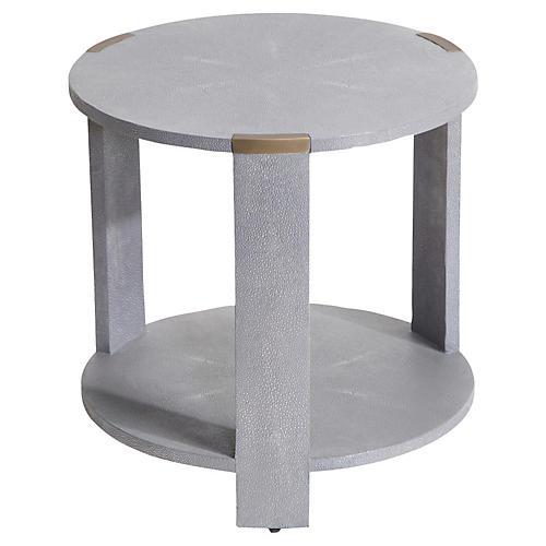 Evelyn Side Table, Gray