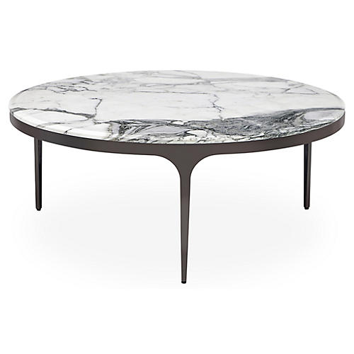 Camilla Coffee Table, White