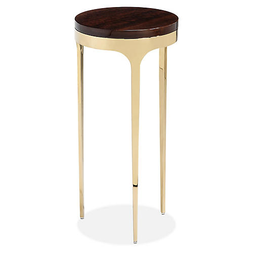 Camilla Side Table, Eucalyptus