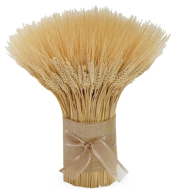 """15"""" Blonde Wheat Stack, Dried"""