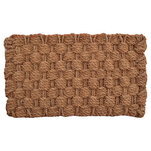 "1'6""x2'6"" Admiral Outdoor Mat, Brown"
