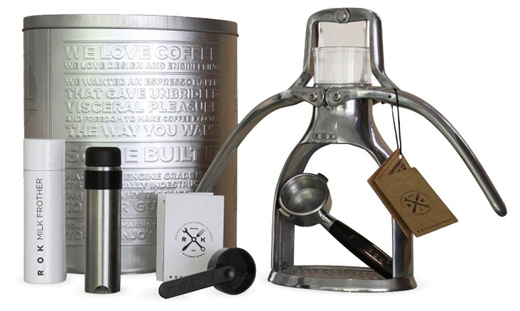 ROK Hand-Pressed Espresso Machine
