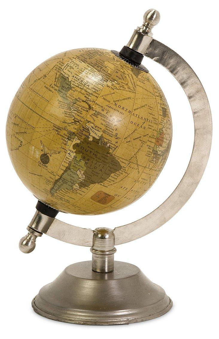 """8"""" Colony Globe w/ Nickel Base"""