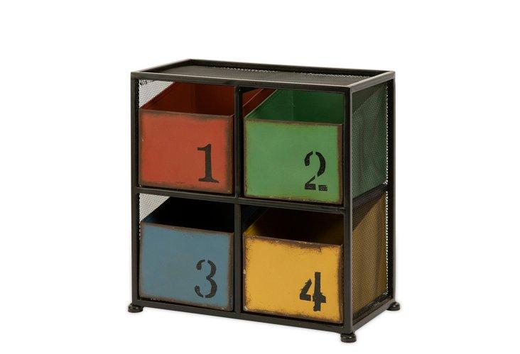 Jestler 4-Drawer Box