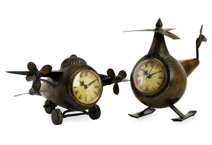 Lindbergh Aviation Clocks