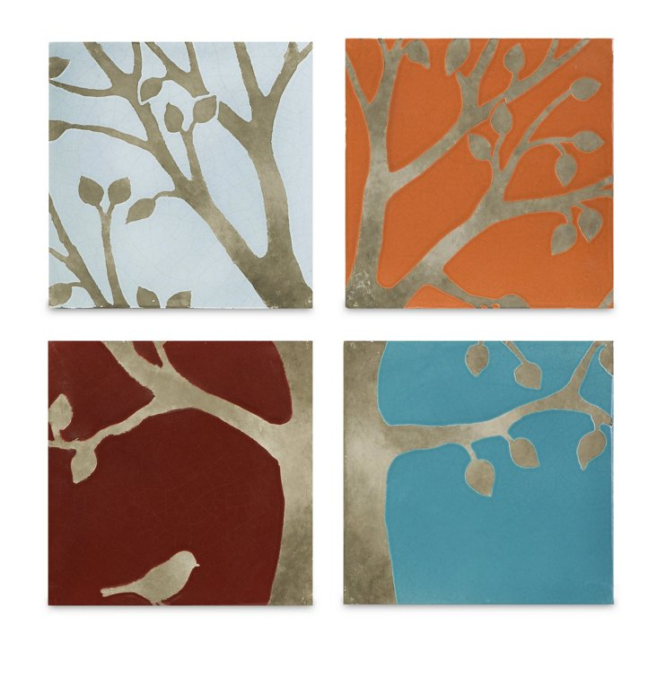S/4 Meadow Terracotta Wall Tiles