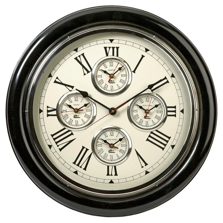Lazare Country Wall Clock