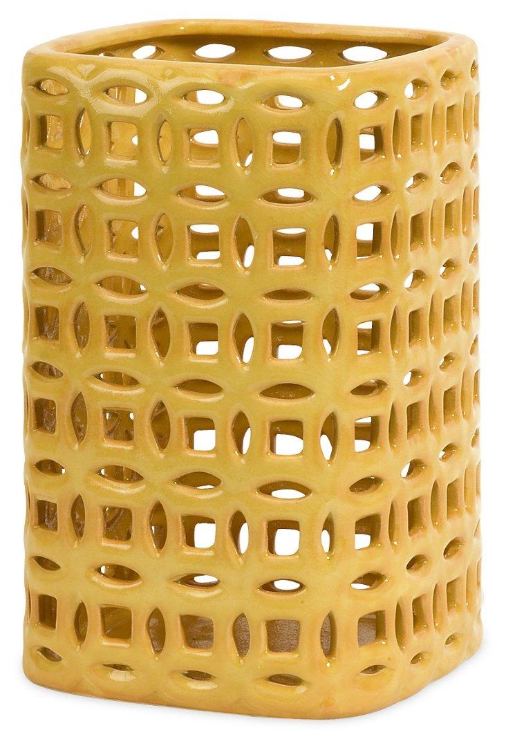 """11"""" Links Graphic Vase"""