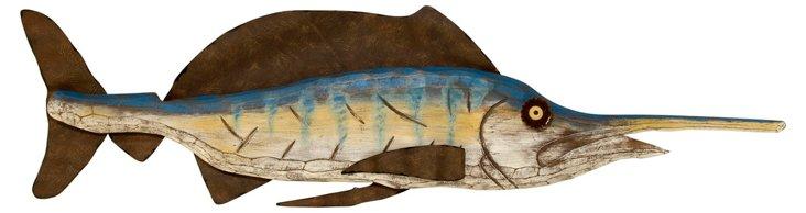 "42"" Nelson Wall Fish"