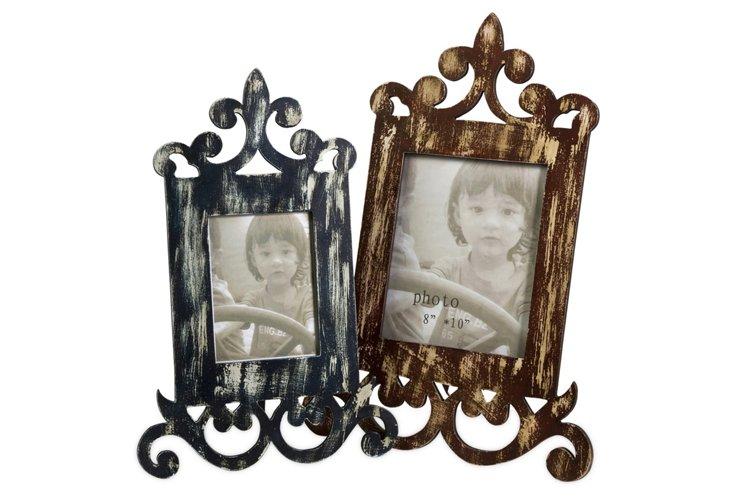 S/2 Eplie Wood Frames