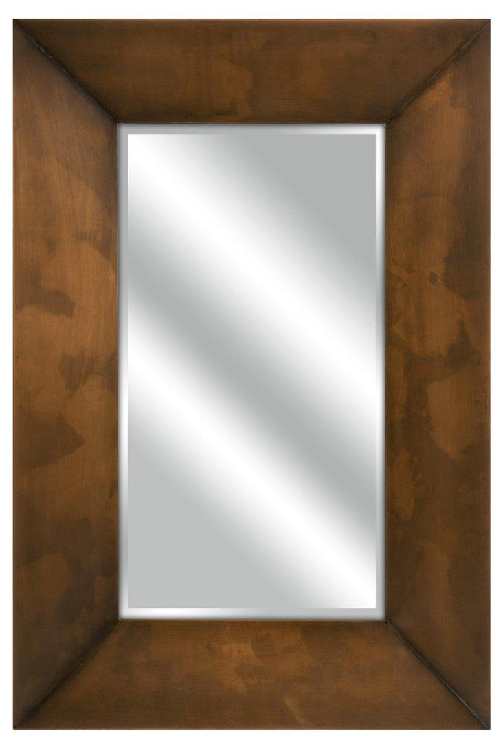 Copper-Plated Mirror