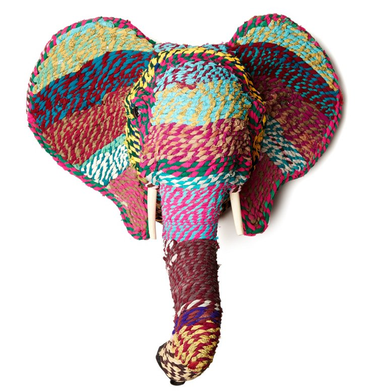 "27"" Handsel Elephant Wall Decor"