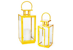 Yellow Essentials Lanterns, Asst. of 2
