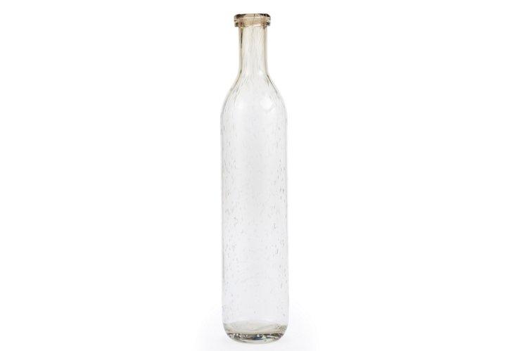 """17"""" Bubble Bottle, Light Brown"""
